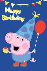 george peppa pig birthday card design ebay