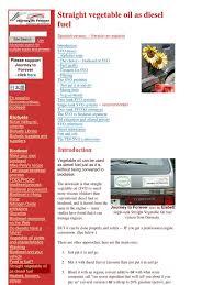 vegetable oil as fuel diesel engine biodiesel