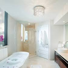 Bathroom Dome Light Led Ceiling Lights For Small Spaces Ideas Advice Ls Plus