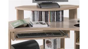 Schreibtisch In Schwarz Tanga Computer Schreibtisch In Eiche Sonoma