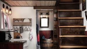 150 sq ft barn tiny house getaway in portland