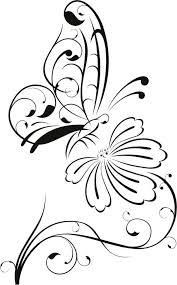 coloring pages adults fine outline lotus flower simple