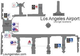lax gate map lax los angeles airport guide terminal map airport guide