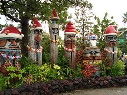 tiki gods at christmas tiki pinterest coastal christmas