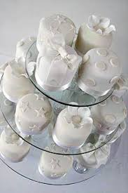 individual wedding cakes rolled fondant mini white individual wedding cakes from