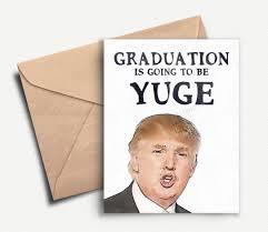 college grad invitations funny graduation card donald trump graduation gift