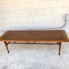 lane acclaim end table midcentury lane acclaim surfboard coffee table from off main attic