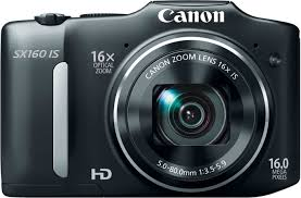 flipkart com buy canon sx160 is point u0026 shoot camera online at