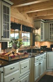 Log Cabin Kitchen Ideas Cabin Siding Ideas Best Log Cabin Kitchens Ideas On Log Cabin