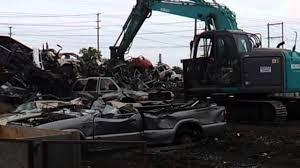 junkyard car youtube car crushing at the junkyard youtube