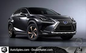 the premium suv 2018 lexus nx hybrid will get more forked look
