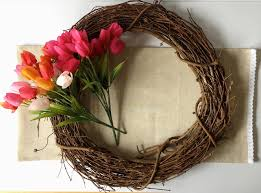 Tulip Wreath Diy Tulip Wreath U2013 Cozy With The Poseys