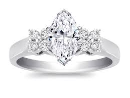 marquise diamond engagement ring marquise engagement rings from mdc diamonds nyc