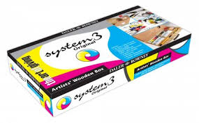 system 3 acrylic wooden box set daler rowney