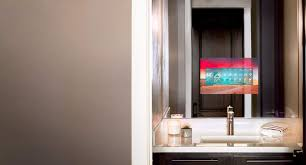 tv in the mirror bathroom bathroom mirror with tv seura