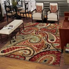 Paisley Area Rugs Innovative Paisley Area Rug With Orian Rugs Weave Paisley