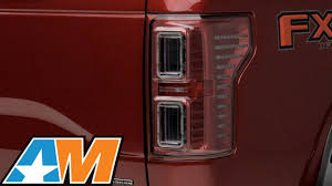 2016 f150 led tail lights 2015 2016 f 150 raxiom horizon led tail lights clear red review