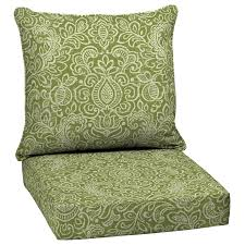 Wicker Patio Furniture Cushions Decor Tips 2 Wicker Chair Green Cushions For