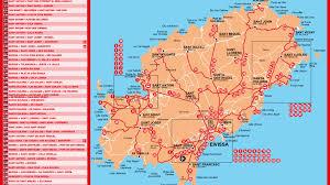 Bora Bora On Map Of The World by Bus Services In Ibiza Spain Seeibiza Com