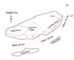 Bahama Islands Map Sandy Cay Gilligan U0027s Island Bahama U0027s