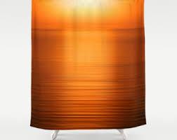 Orange Shower Curtains Brown And Orange Shower Curtain 100 Images Orange Shower