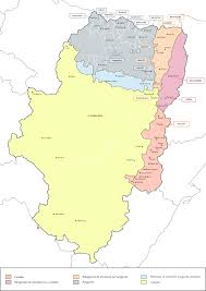 Northern Spain Map by Aragonese Language Wikipedia