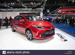 toyota new 2017 bangkok thailand 28th mar 2017 toyota new vios car on display