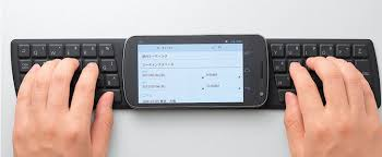 keyboard for android phone japanese company releases portable nfc keyboard for android phones