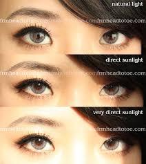 adore bi tone grey colored contact lens review head toe