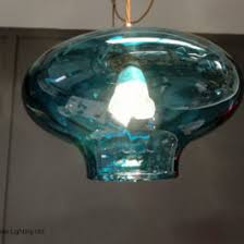 Turquoise Glass Pendant Light Gideon Glass Pendant Light Nirvana Lighting Nirvana Lighting