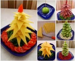 edible christmas tree platter diy ideas beesdiy com