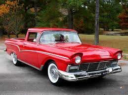 1959 ford ranchero custom orange paint ford ranchero