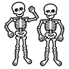 15 skeleton coloring pages toddler