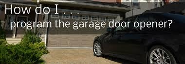 Reprogram Garage Door Opener by How Do I Program My 2015 Hyundai Genesis Universal Garage Door