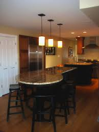 kitchen island table combination l shaped kitchen table wooden