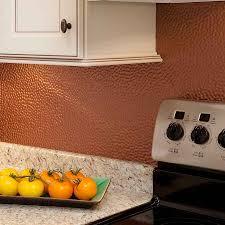 copper sheet backsplash backsplash ideas