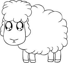 sheep coloring pages ngbasic