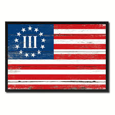 Tennesse Flag Army Of Tennessee Military Flag Patriotic Office Wall Home Decor