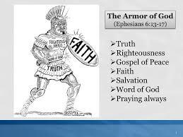 ppt the armor of god ephesians 6 13 17 powerpoint presentation