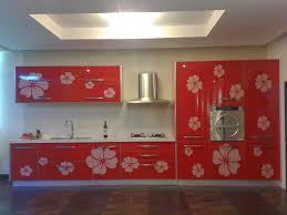 Red Kitchen Cabinets by Kitchen Modern Architecture Kitchen Design Ideas With Red