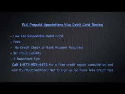 pls prepaid card pls debit card prepaid xpectations visa