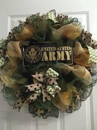 us army veteran deco mesh ribbon wreath on etsy 40 00 us army