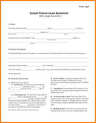 Free Lease Agreement 7 Basic Lease Agreement Template Packaging Clerks