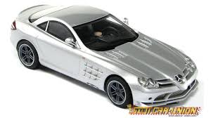 scalextric c2783a mercedes benz 300 srl and slr mclaren 722
