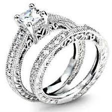 wedding set cz wedding sets ebay