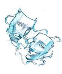 pics for u003e comedy and tragedy masks tattoo tattoo stuff
