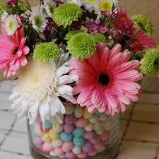 malted easter eggs easter flowers in a malted egg vase a scrumptious