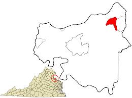 Northern Virginia Zip Code Map by Dahlgren Virginia Wikipedia