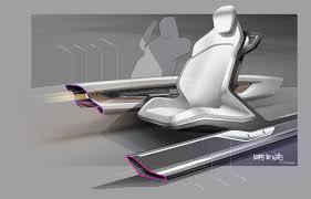 bmw vision future luxury concept interior design sketch by doeke