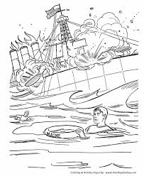 memorial coloring pages memorial day coloring pages uss maine coloring pages honkingdonkey